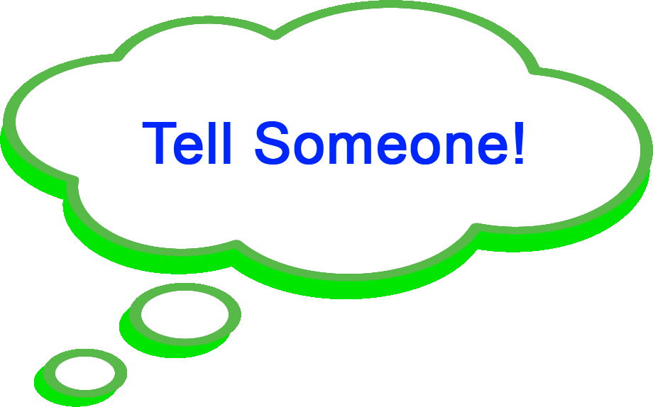 tell someone1