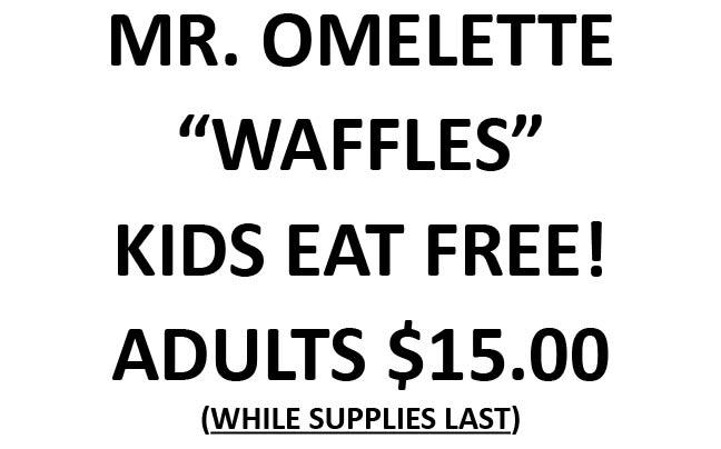 MR OMELETTE